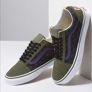BNIB Vans Color Block Old Skool Sneakers